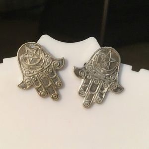 ❇️Vintage Hamsa Earrings